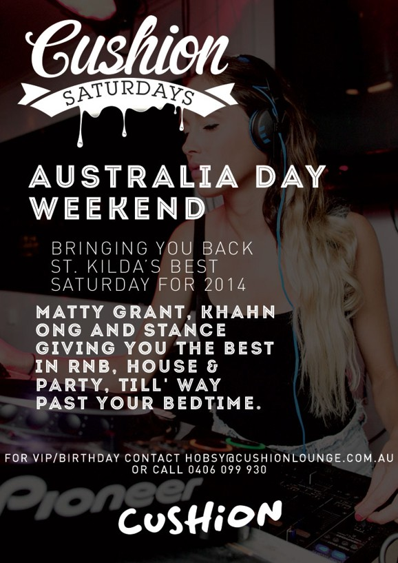 Cushion Saturdays