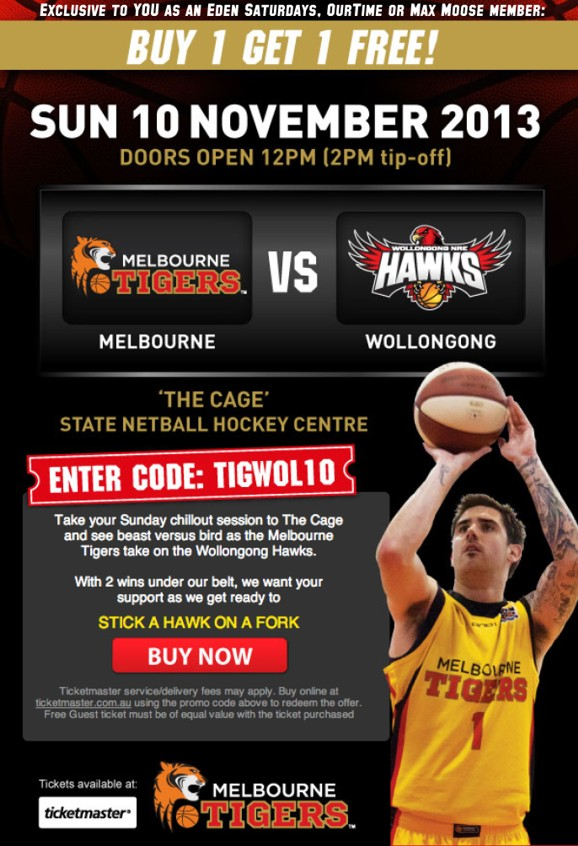 Exclusive to YOU as an Eden Saturdays, OurTime or Max Moose member: