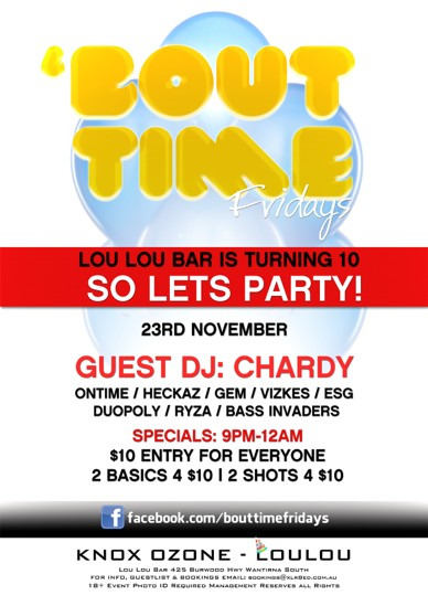 'Bout Time Fridays