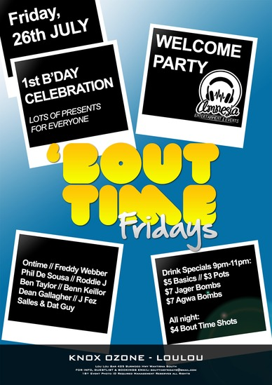 Friday, 26th July