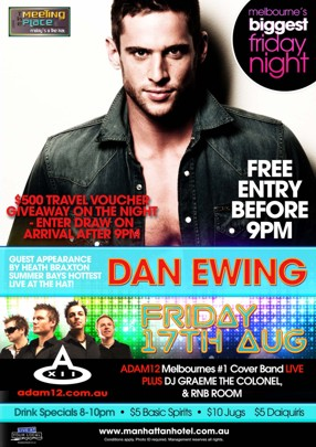 The Meeting Place fridays @ The hat