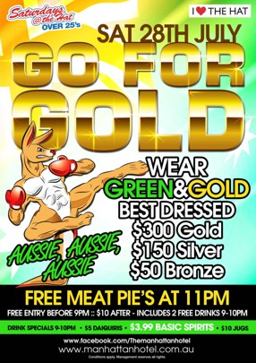 Saturdays @ The Hat