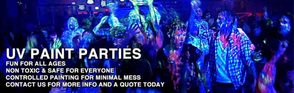 UV Paint Parties