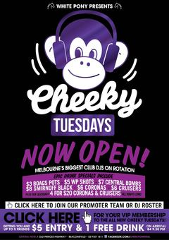 Cheeky Tuesdays @ Beaconsfield Central (Cench)