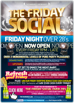 The Friday Social @ Marquee