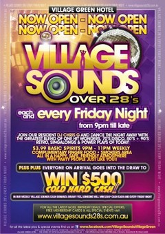 Village Sounds (over 28s) @ Village Green